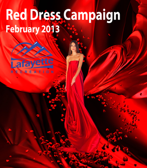 Lafayette Red Dress Campaign