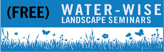 water wise landscape banner