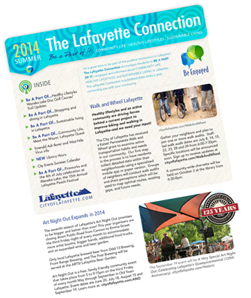 Lafayette Connection Newsletter